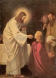 Klękanie przed Panem Jezusem