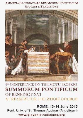 4. Konferencja Summorum Pontificum 2015