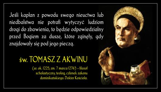 św. Tomasz z Akwinu